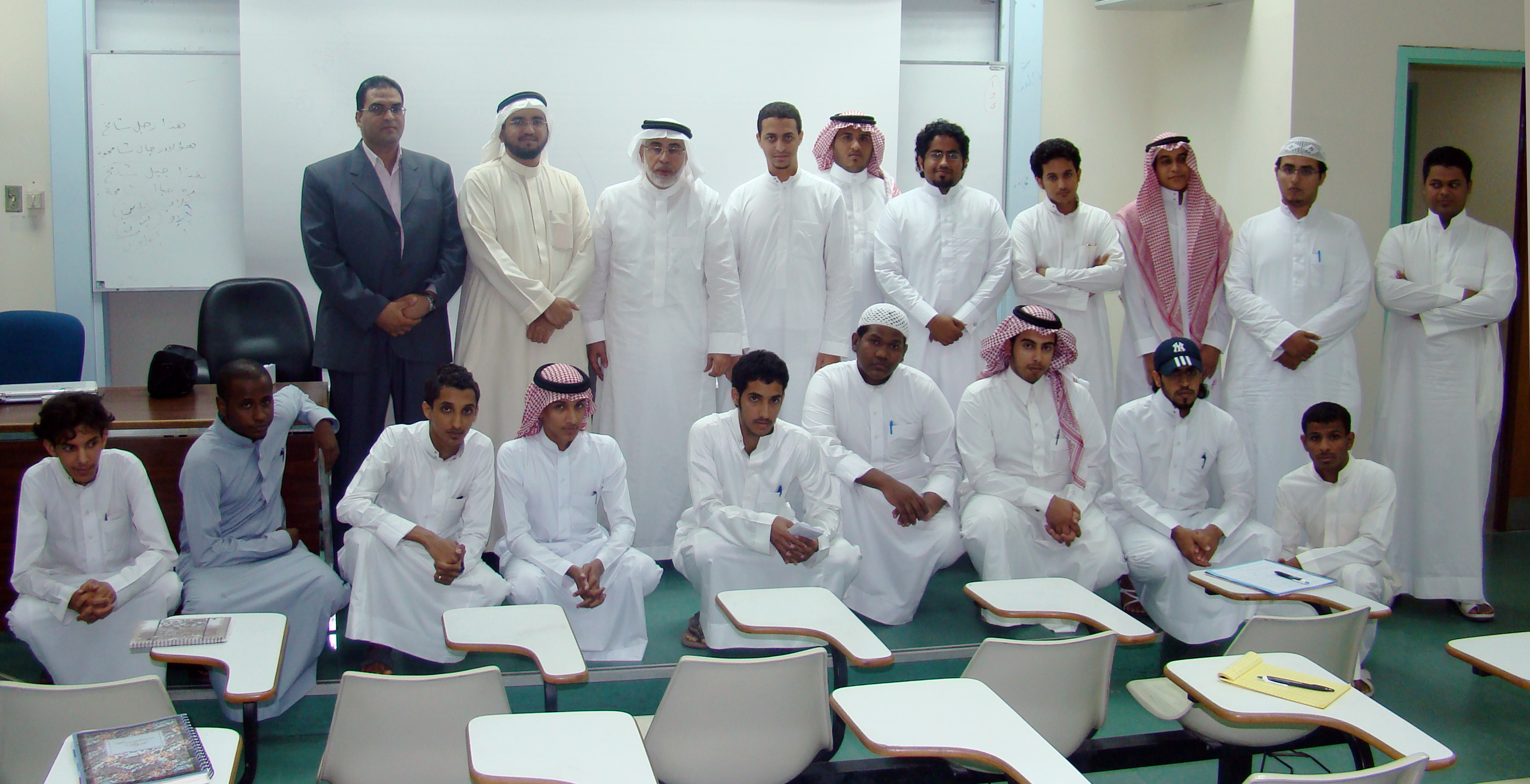 Future journalists from the University of Taiba visit Al Masar Agency