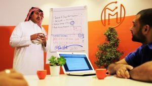 Masar Agency Digital Marketing Adel Baflah Team Meeting